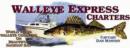 Charter Fishing on Saginaw Bay for Walleye & Salmon